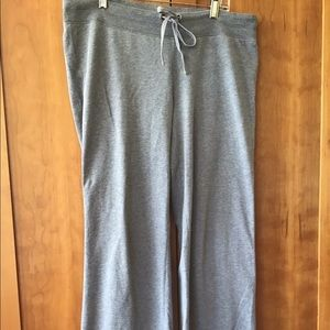 LOFT super soft classic grey sweatpants NICE